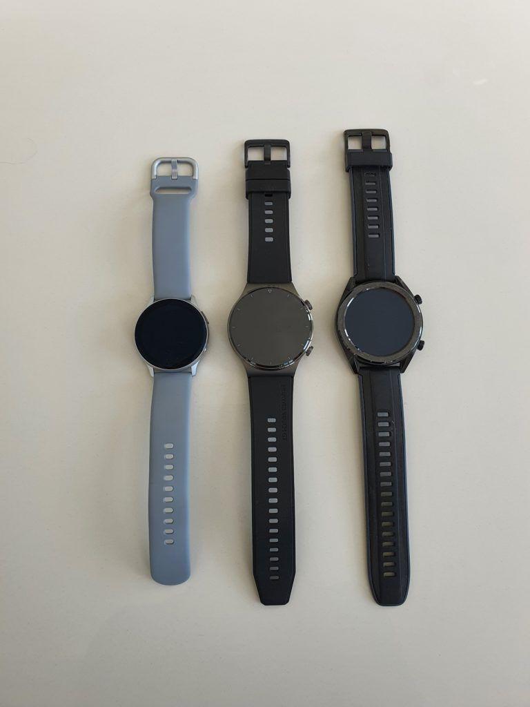 Samsung Galaxy Watch Active 2 Huawei Watch GT 2 Pro