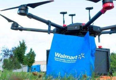 Walmart dron zakupy dostawa