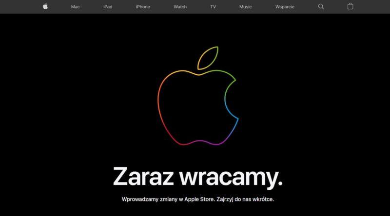 Apple Store zamkniete Premiera iPhone 12