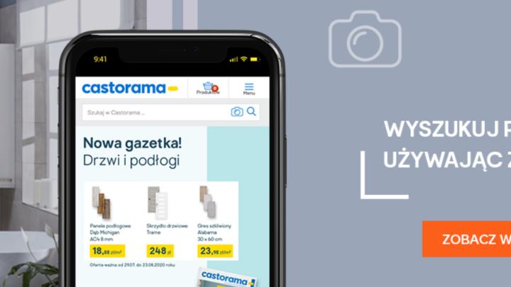 Castorama umożliwia wyszukiwanie obrazem