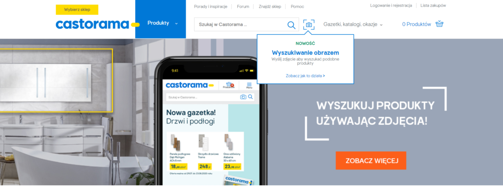 Castorama wyszukiwanie obrazem wyszukiwarka