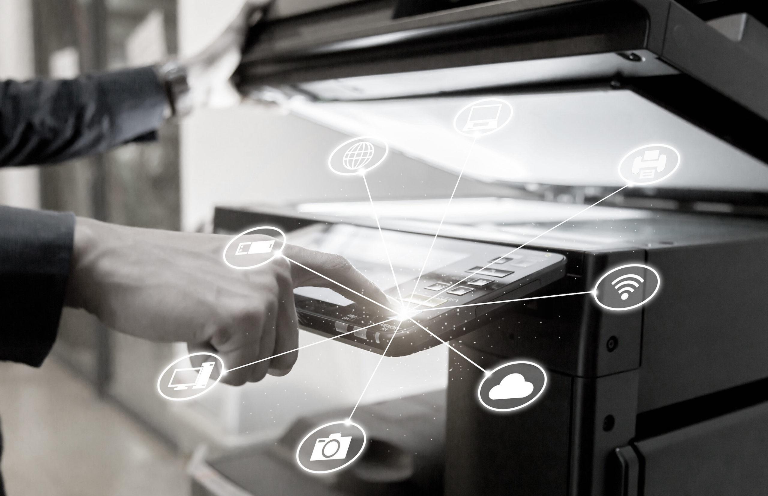 Cyfrowa transformacja druk w chmurze Lexmark IDC