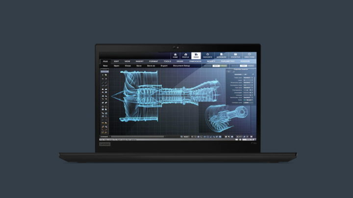 Lenovo ThinkPad P14s imonitor ThinkVision P27h-20 – komfortowy zestaw dopracy