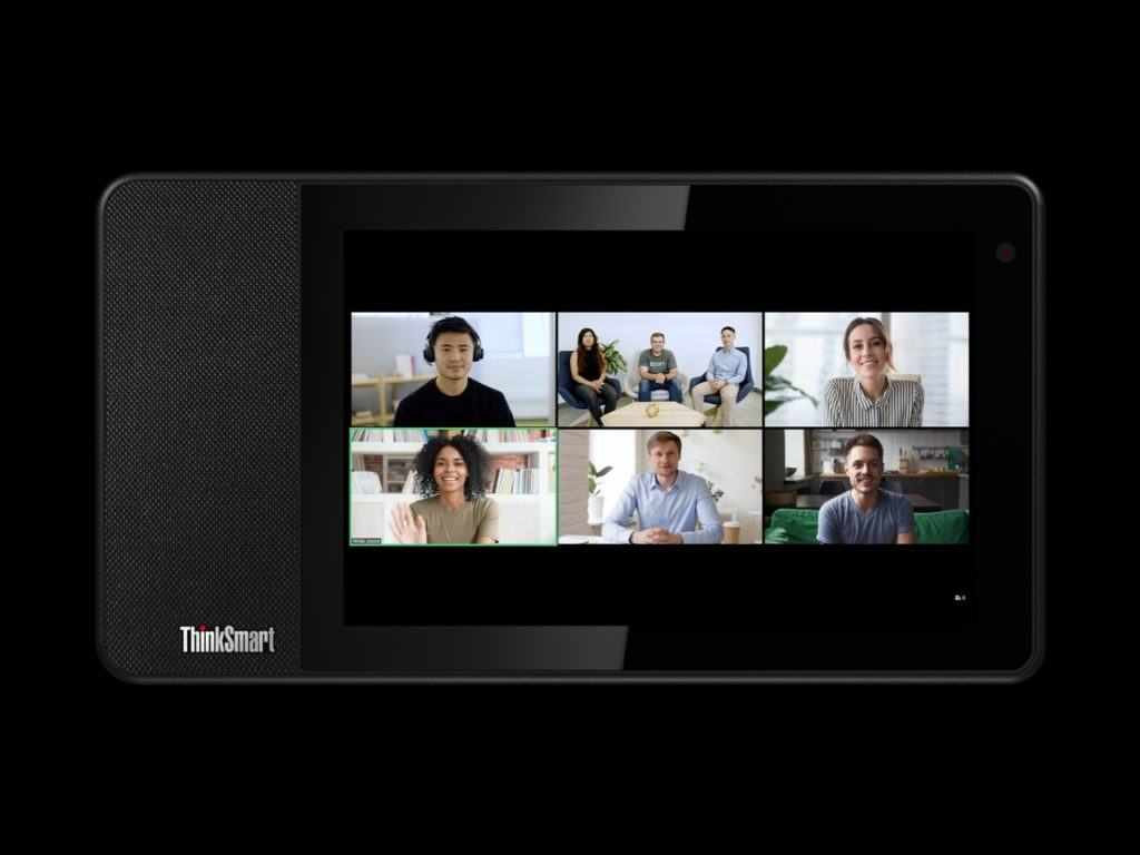 Lenovo ThinkSmart View for Zoom 01_Thinksmart_View_Tour_Front_Facing