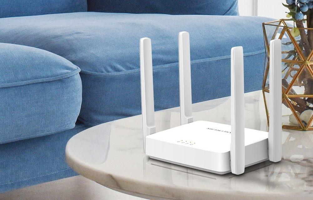 Mercusys AC10 tokompaktowy router AC1200 zobsługą IPTV iAgile Config
