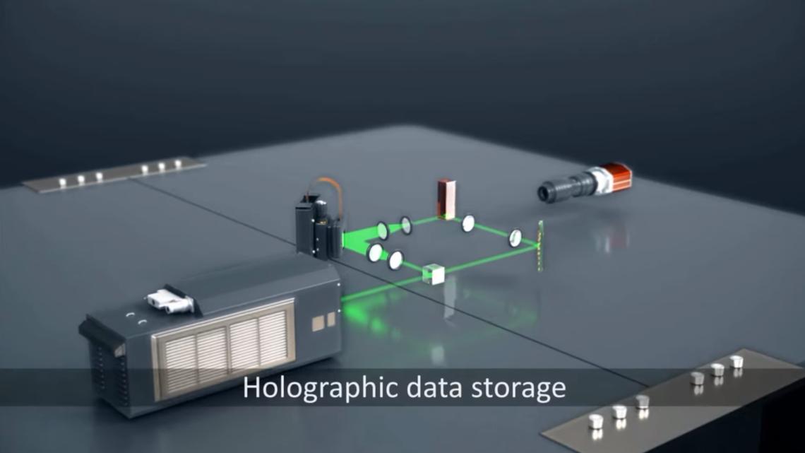 Microsoft Project HSD – pamięć holograficzna doprzechowywania danych wchmurze