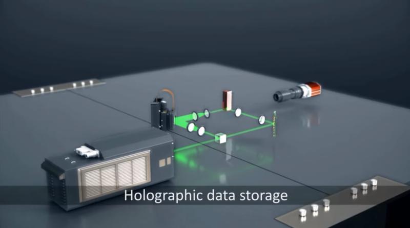 Microsoft Project HSD - pamięć holograficzna do przechowywania danych w chmurze