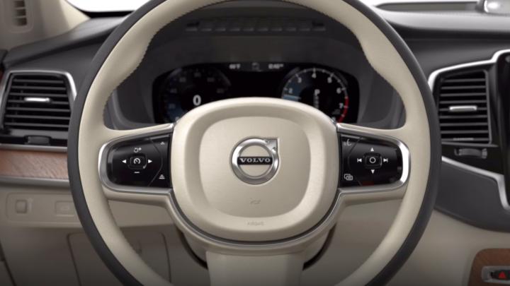Kierownica przesuwana naprawą ilewą stronę tonowy patent Volvo