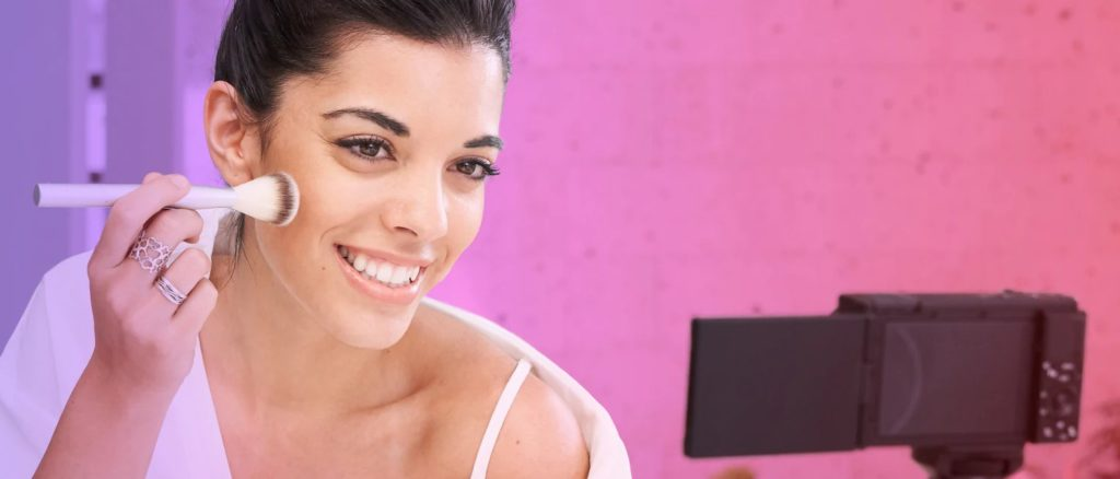 Sony ZV 1 dziewczyna beauty makeup 1