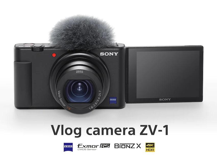 Sony ZV 1 vlog camera