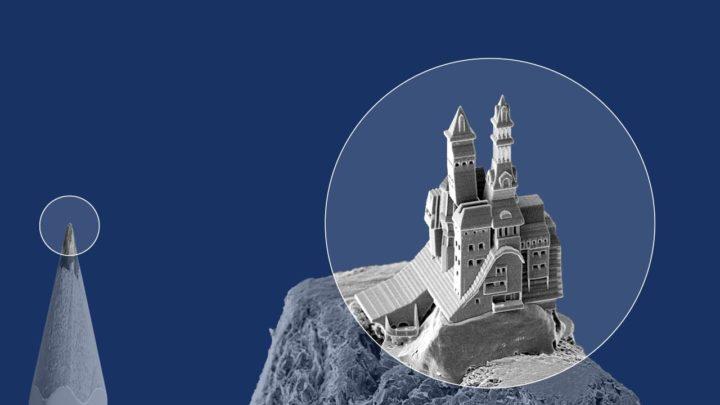 Druk 3D wnanoskali dzięki firmie UpNano