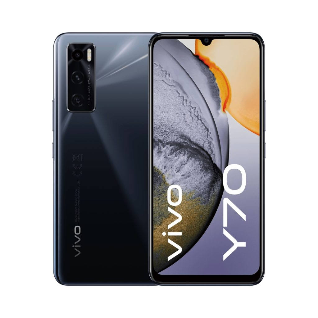 smatfony vivo Y70 Gravity Black