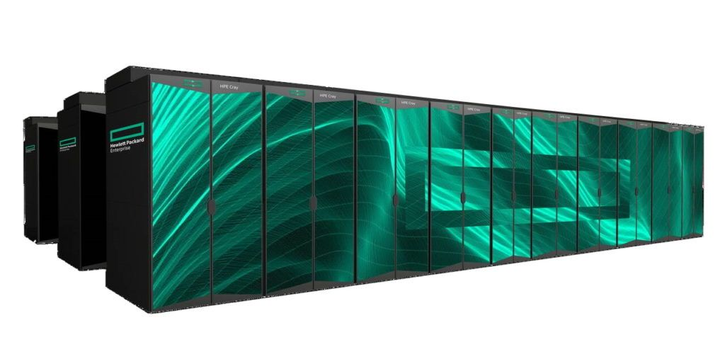 HPE superkomputer LUMI Finlandia AMD - Cray EX