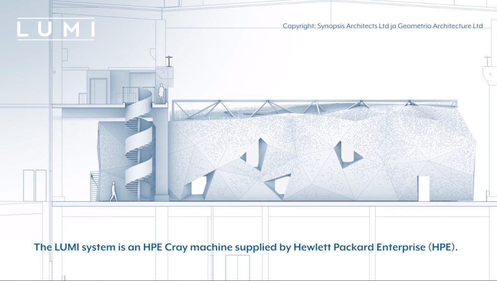 HPE superkomputer LUMI Finlandia AMD Cray EX
