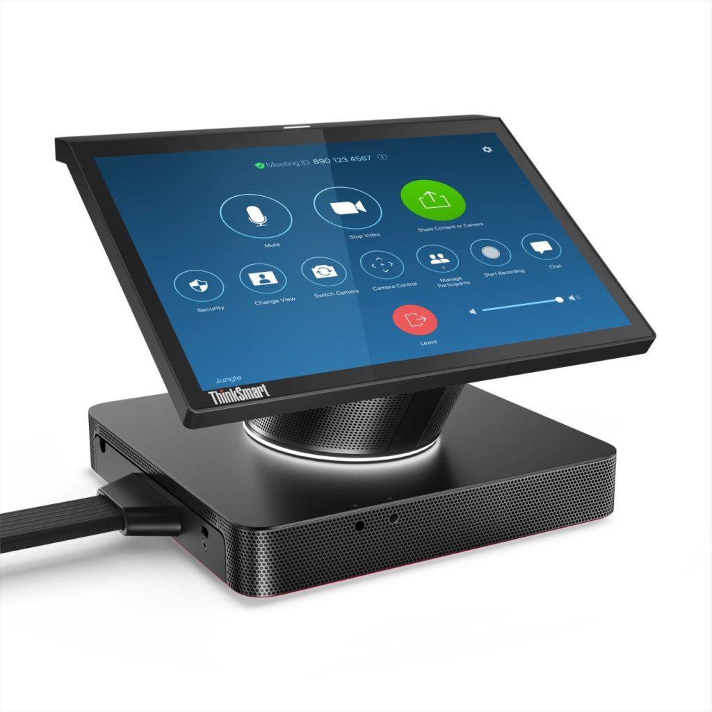 Lenovo ThinkSmart hub for Zoom Front_Facing_Right