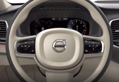 Patent Volvo - przesuwana kierownica tytuł
