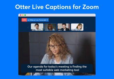 Zoom Otter.ai Napisy nażywo tytul