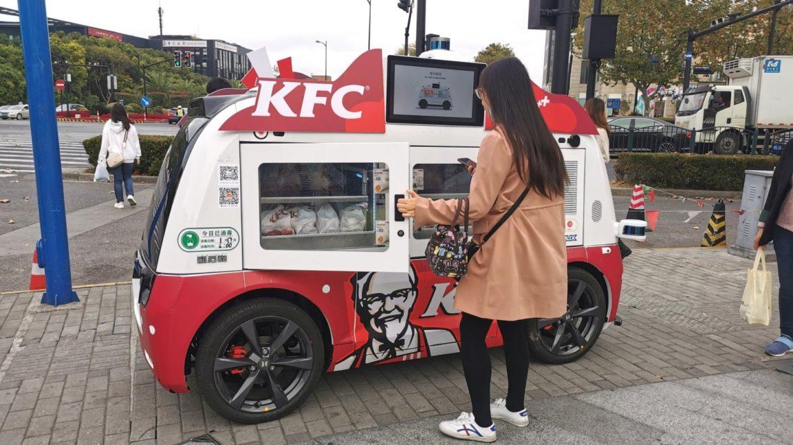 Autonomiczne food trucki KFC ruszają wChinach