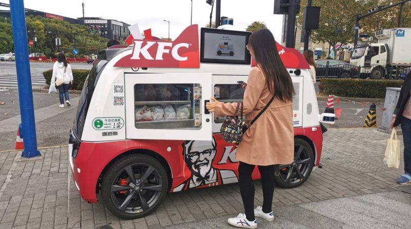 Autonomiczne food trucki KFC