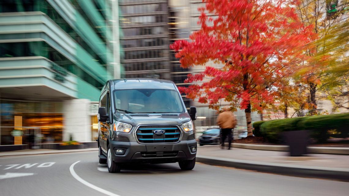 Ford E-Transit – premiera elektrycznego vana
