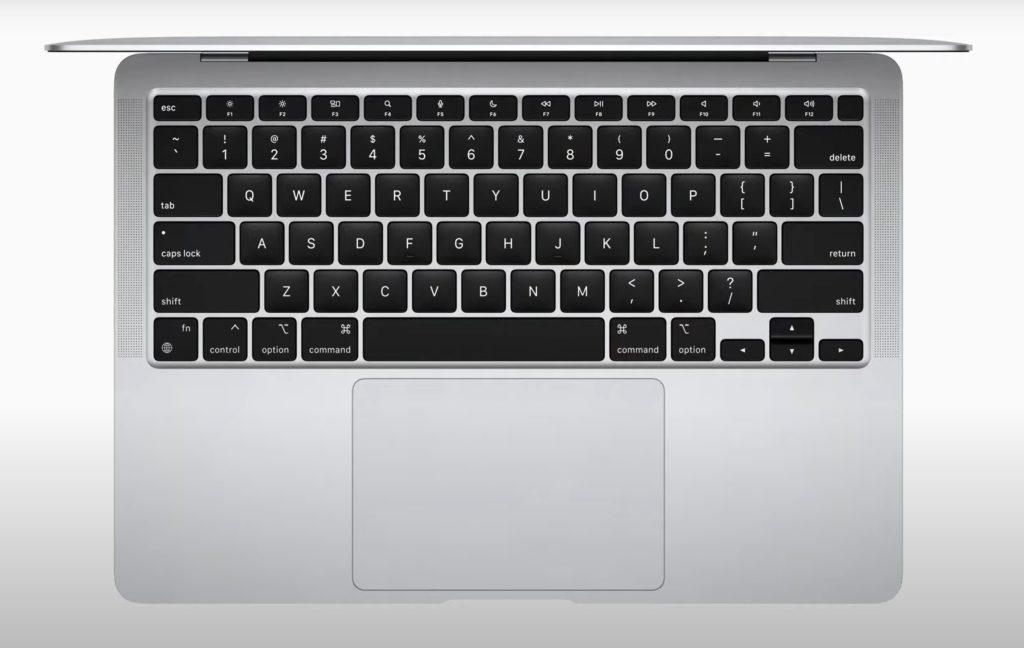 Apple MacBook Air klawiatura