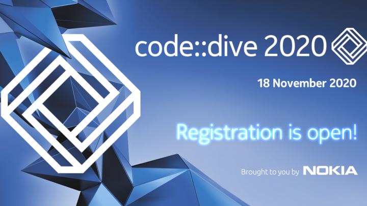 Nokia – konferencja code::dive. Zanurkuj wkodzie online