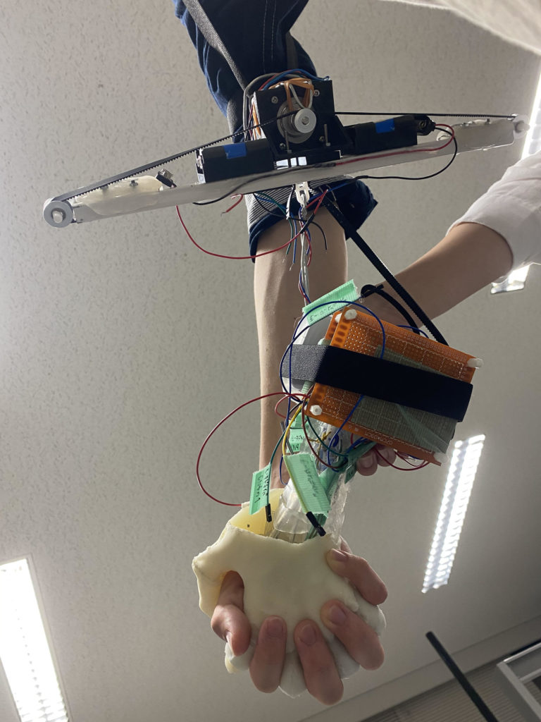 Osampo Kanojo robotyczna dłoń 5