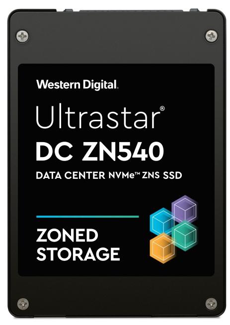 Western Digital Ultrastar DC ZN540 ZNS SSD