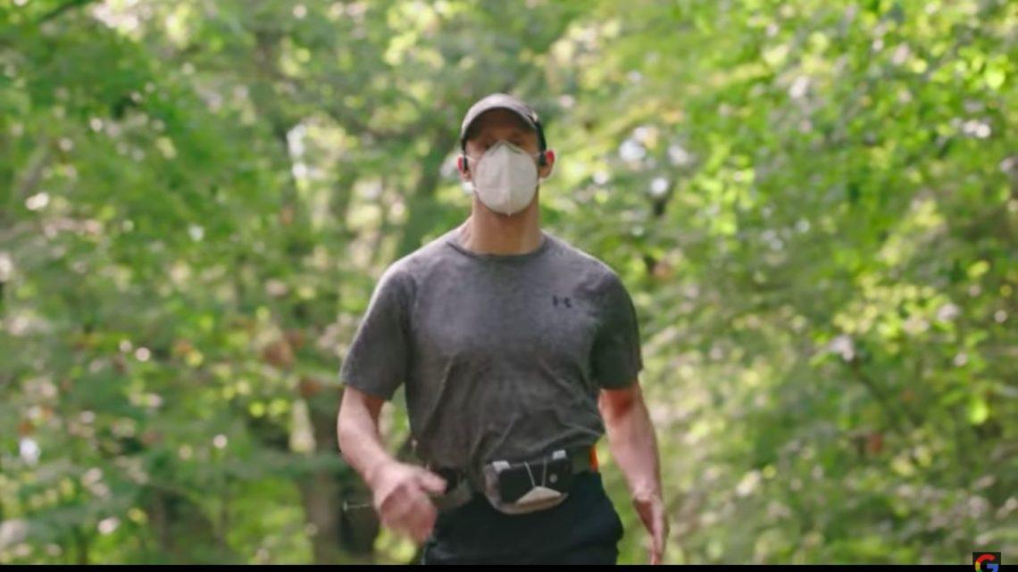 Niewidomy biegacz pokonał 5 km – pomagała mu tylkosztuczna inteligencja