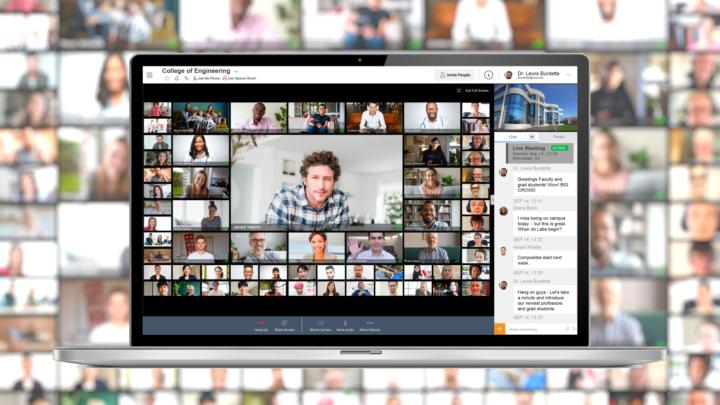 Avaya Spaces umożliwia spotkania wideo nawet 61 uczestników naraz
