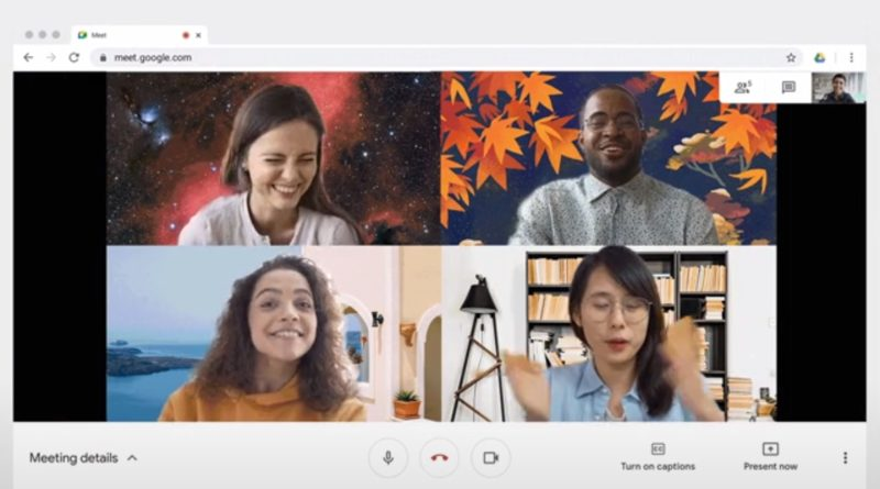 google meet zdjęcie jako tlo zoom microsoft teams
