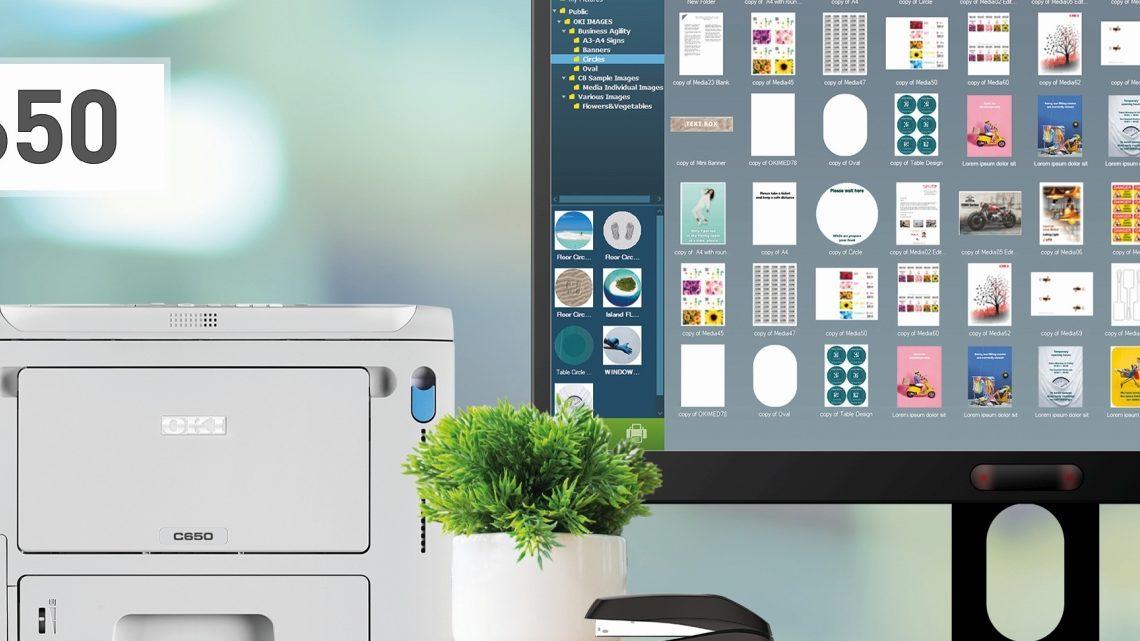 OKI C650 tonajmniejsza kolorowa drukarka laserowa A4