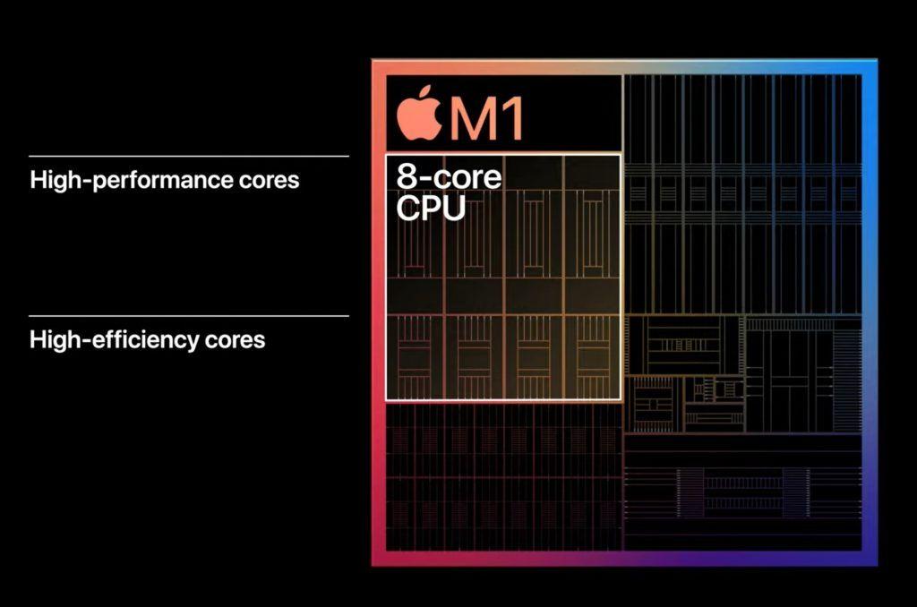 Apple M1 CPU cores