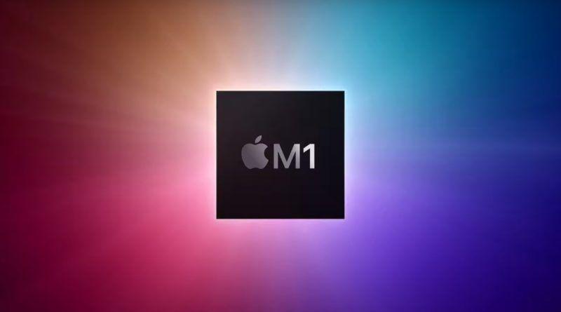 Apple M1 obrazek tlo