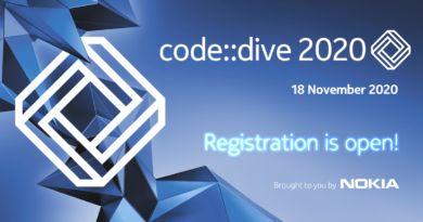 Nokia Konferencja code::dive 2020 - Zanurkuj w kodzie online