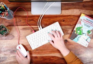 Raspberry Pi 400 komputer zestaw - tytul