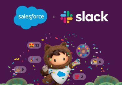 Salesforce kupi slacka połączenie