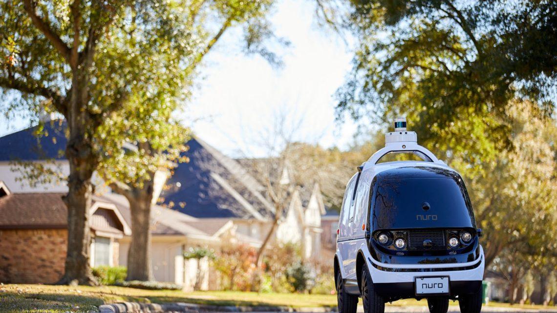 Autonomiczne pojazdy Nuro wyjechały nakalifornijskie ulice