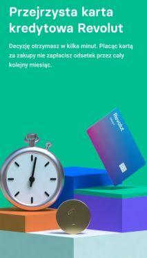 Revolut Bank karta kredytowa