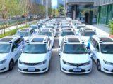 Autonomiczne taksówki wyjechały nachińskie drogi