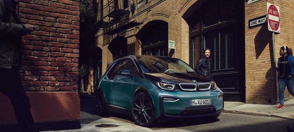 BMW i3 ulica