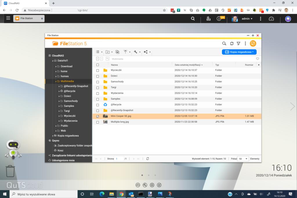 QuTScloud File Station