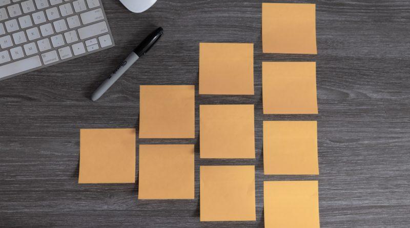 agile karteczki projekt