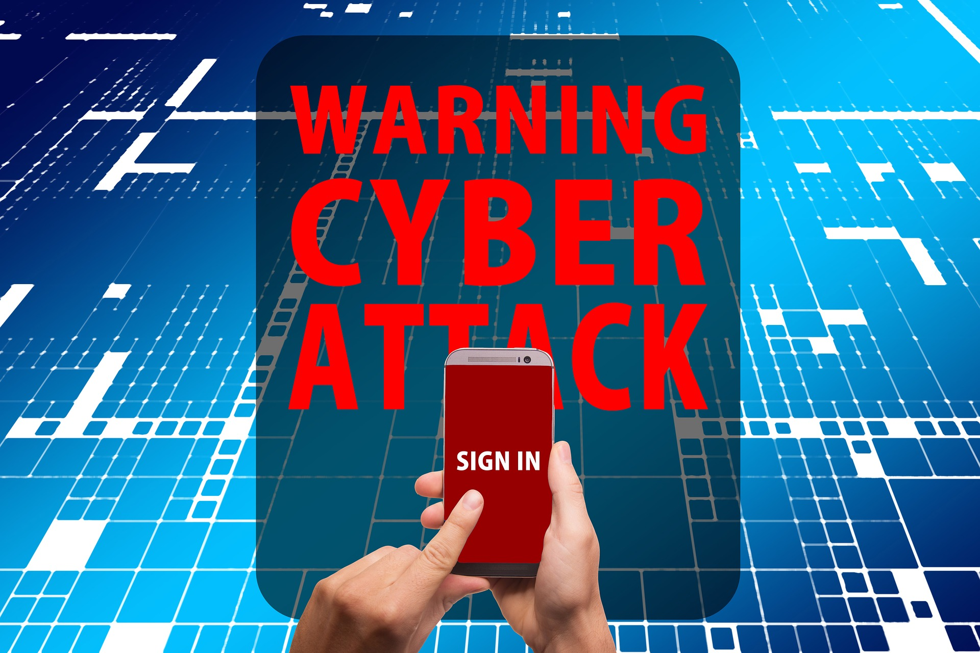 warning cyber attack cyberatak