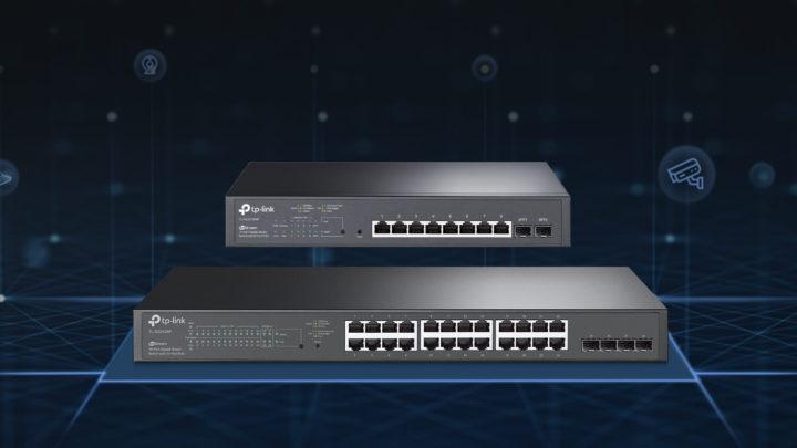 Przełączniki PoE TP-Link TL-SG2428P iTL-SG2210MP zmożliwością zarządzania przezchmurę