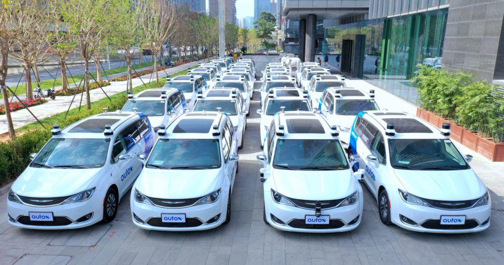 taksówki autonomiczne AutoX