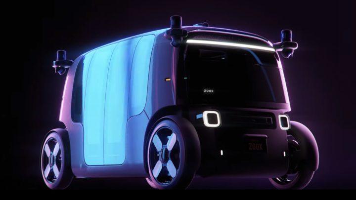 Amazon zaprezentował samojezdny samochód autonomiczny Zoox