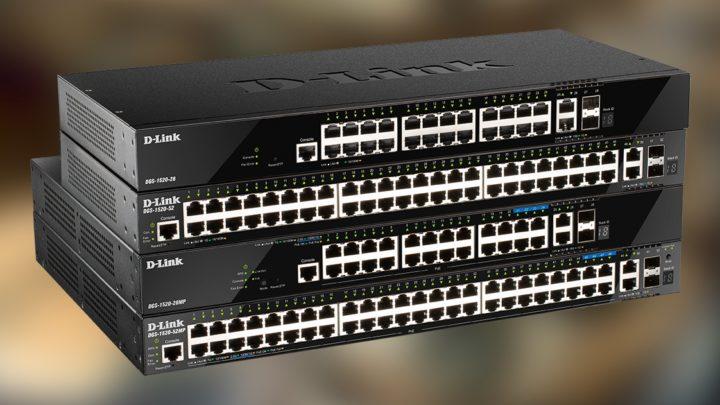 D-Link DGS-1520 – nowa generacja przełączników Smart