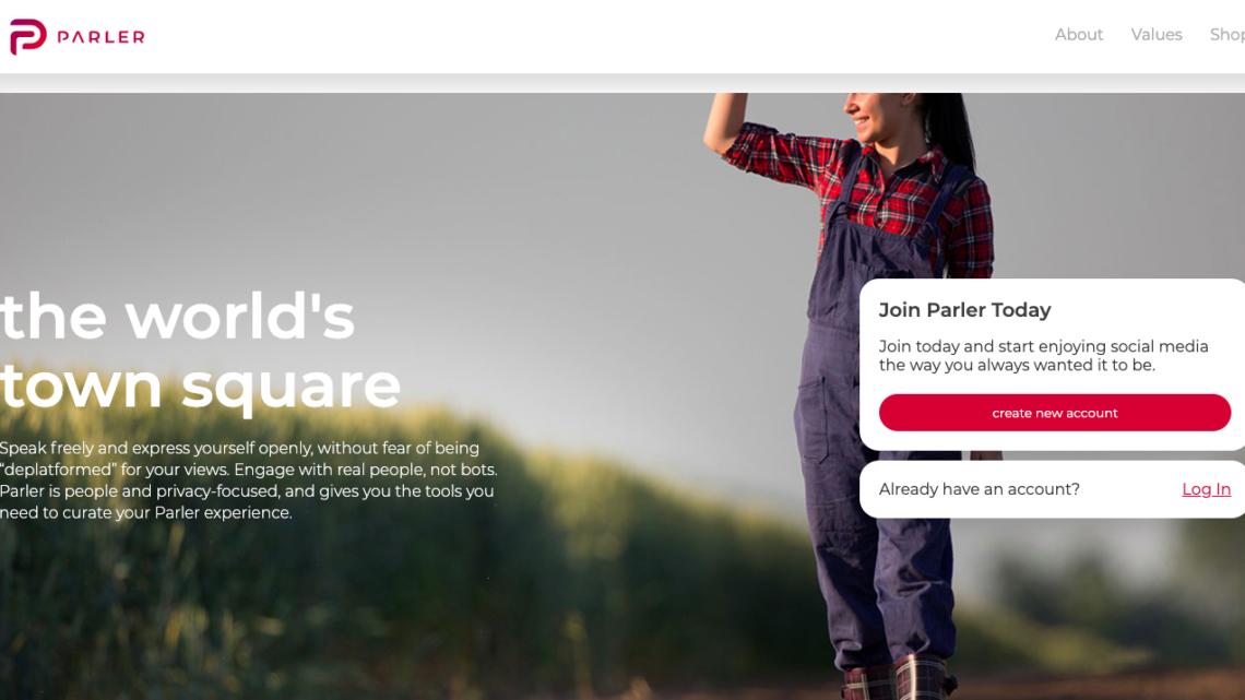 Parler może zniknąć zesklepów Google iApple
