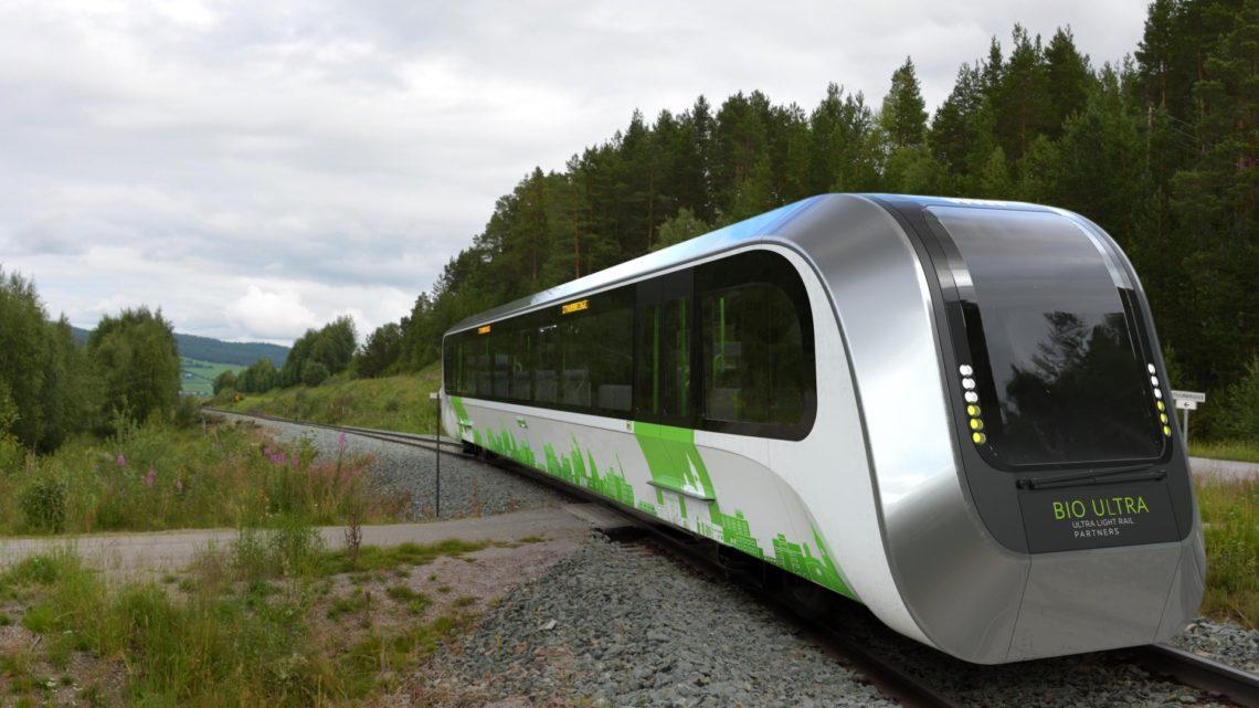 BioUltra – lekki pojazd szynowy nabiometan